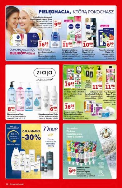 Auchan gazetka promocyjna od 2020-10-15, strona 22