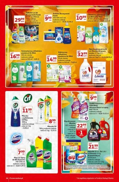Auchan gazetka promocyjna od 2020-10-15, strona 26