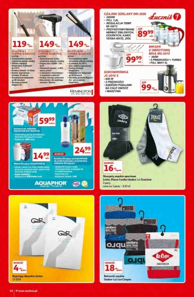 Auchan gazetka promocyjna od 2020-10-15, strona 32