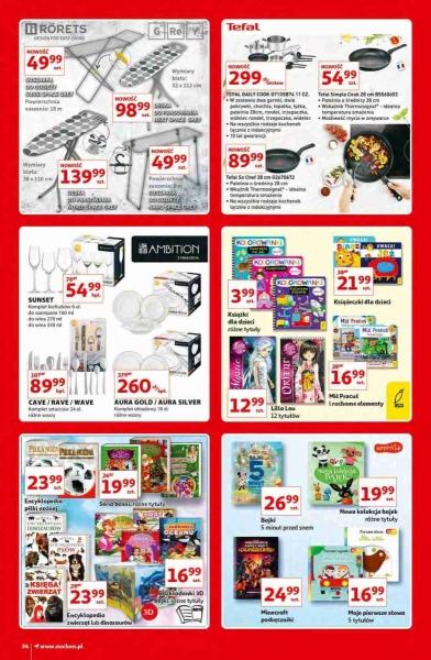 Auchan gazetka promocyjna od 2020-10-15, strona 34