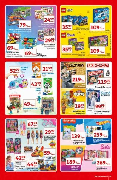 Auchan gazetka promocyjna od 2020-10-15, strona 35