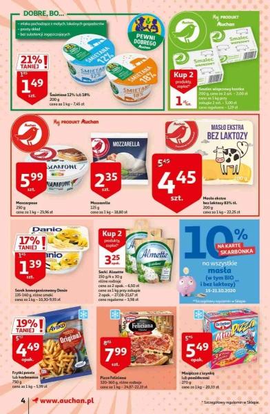 Auchan gazetka promocyjna od 2020-10-15, strona 4