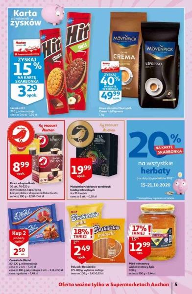 Auchan gazetka promocyjna od 2020-10-15, strona 5