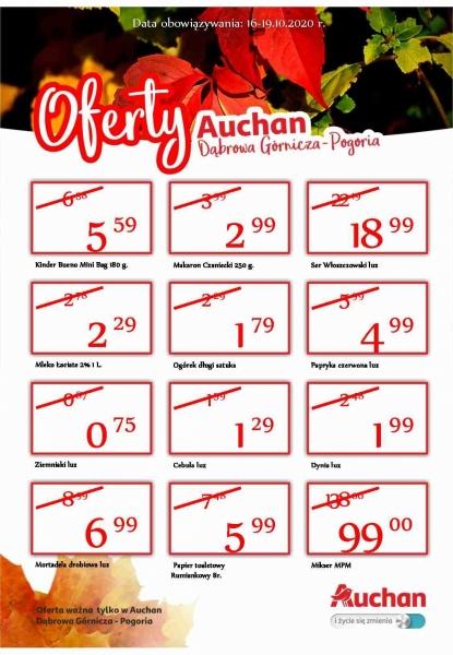 Auchan gazetka promocyjna od 2020-10-15, strona 1