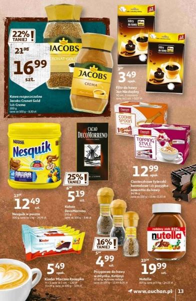 Auchan gazetka promocyjna od 2020-10-22, strona 13