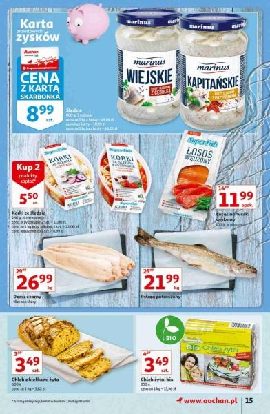 Auchan gazetka promocyjna od 2020-10-22, strona 15