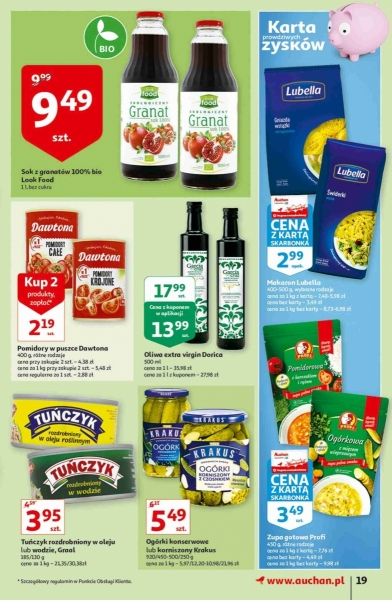 Auchan gazetka promocyjna od 2020-10-22, strona 19