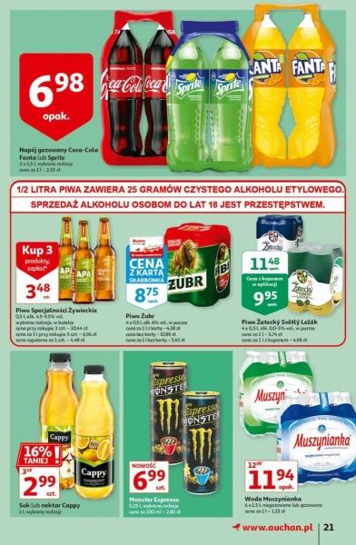 Auchan gazetka promocyjna od 2020-10-22, strona 21