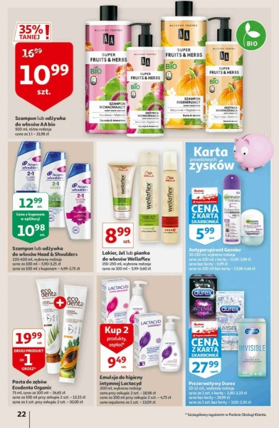 Auchan gazetka promocyjna od 2020-10-22, strona 22