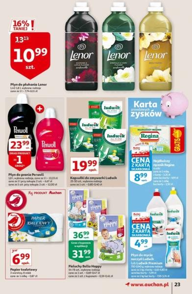 Auchan gazetka promocyjna od 2020-10-22, strona 23