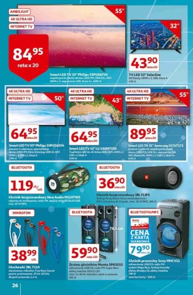 Auchan gazetka promocyjna od 2020-10-22, strona 26