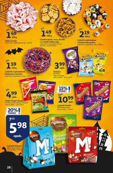Auchan gazetka promocyjna od 2020-10-22, strona 28