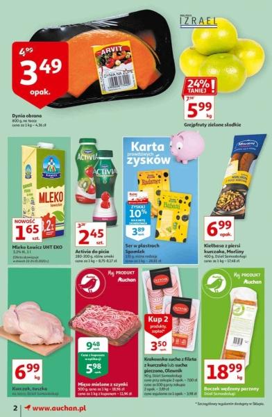 Auchan gazetka promocyjna od 2020-10-22, strona 2