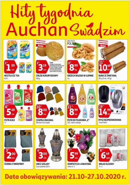 Auchan gazetka promocyjna od 2020-10-21, strona 1