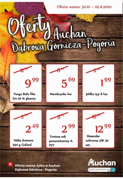 Auchan gazetka promocyjna od 2020-10-28, strona 1