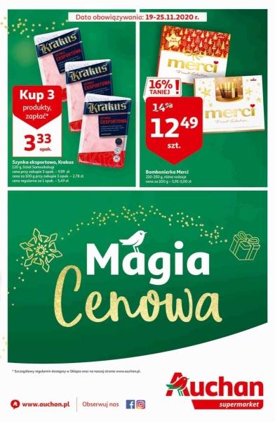 Auchan gazetka promocyjna od 2020-11-19, strona 1