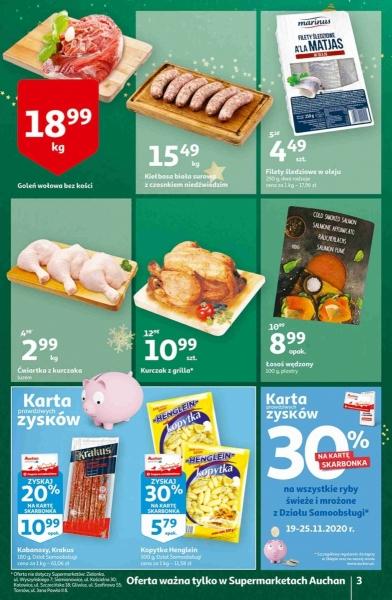 Auchan gazetka promocyjna od 2020-11-19, strona 3
