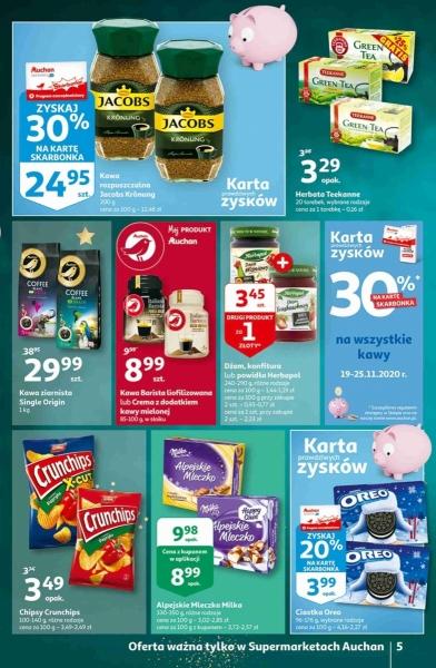 Auchan gazetka promocyjna od 2020-11-19, strona 5