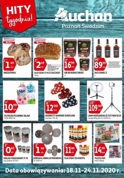 Auchan gazetka promocyjna od 2020-11-18, strona 1