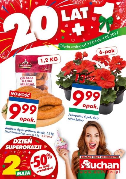 Auchan gazetka promocyjna od 2017-04-27, strona 1
