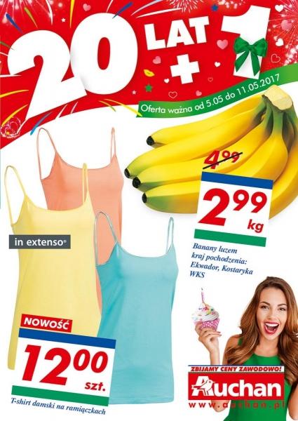 Auchan gazetka promocyjna od 2017-05-05, strona 1