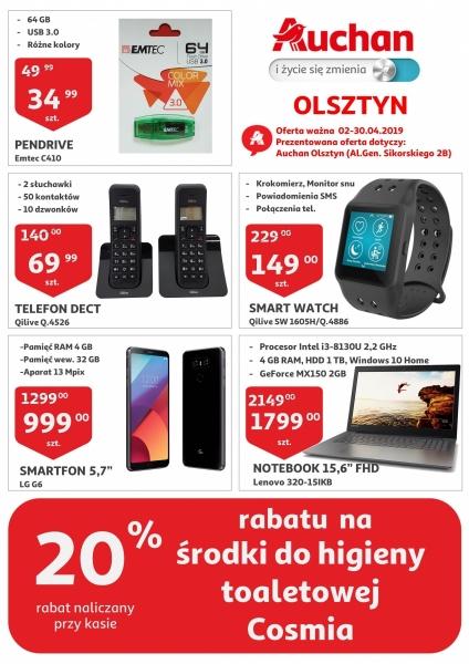 Auchan gazetka promocyjna od 2019-04-02, strona 1
