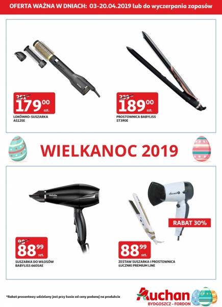 Auchan gazetka promocyjna od 2019-04-03, strona 1