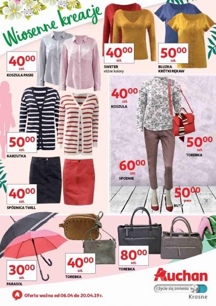 Auchan gazetka promocyjna od 2019-04-06, strona 1