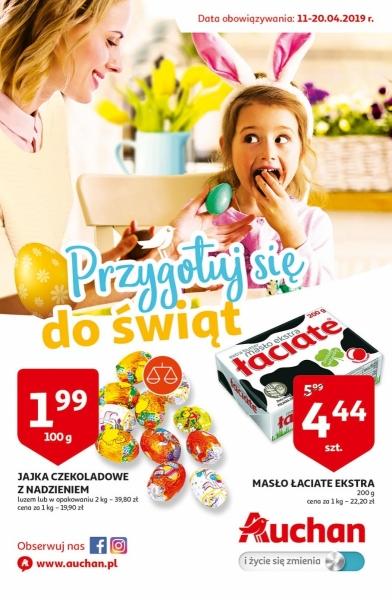 Auchan gazetka promocyjna od 2019-04-11, strona 1