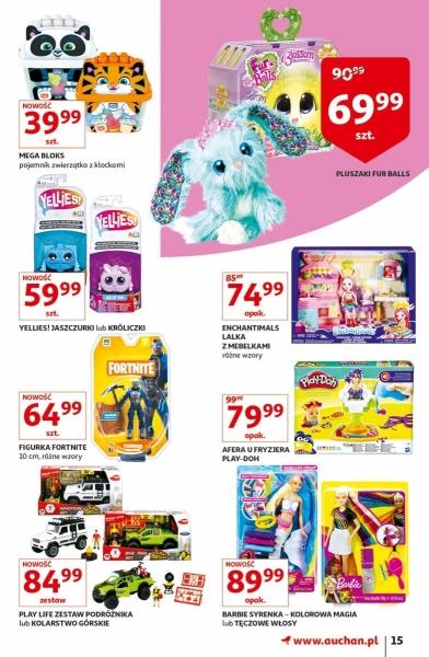 Auchan gazetka promocyjna od 2019-04-11, strona 15