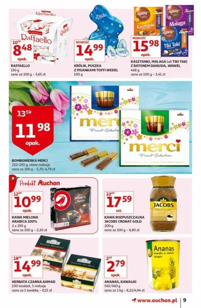 Auchan gazetka promocyjna od 2019-04-11, strona 9