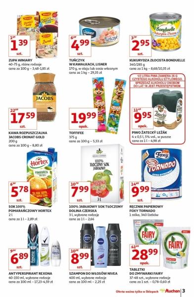 Auchan gazetka promocyjna od 2019-04-11, strona 3
