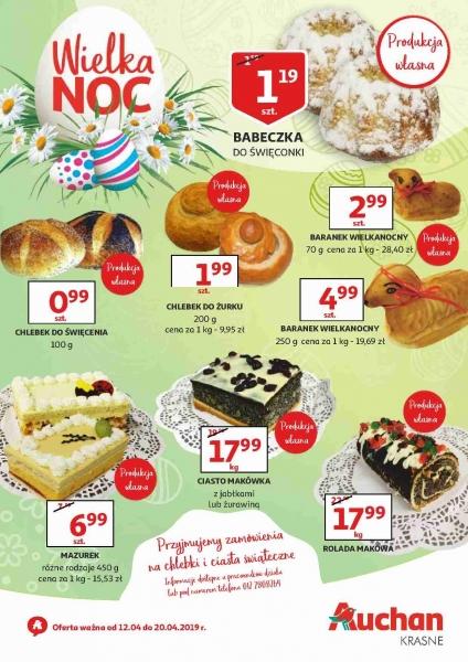 Auchan gazetka promocyjna od 2019-04-12, strona 1