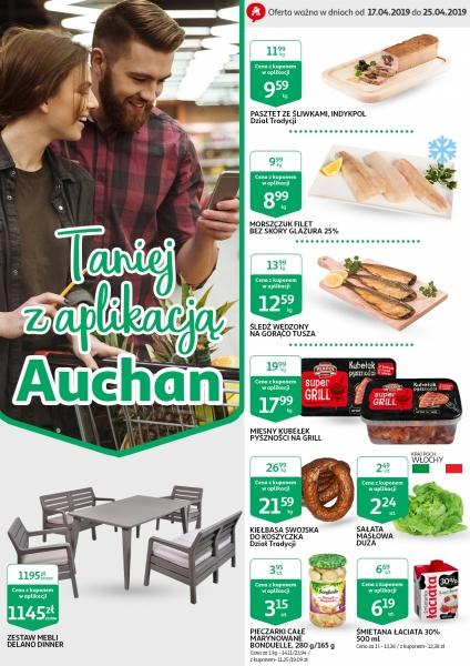 Auchan gazetka promocyjna od 2019-04-17, strona 1