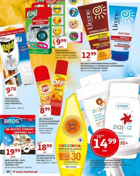 Auchan gazetka promocyjna od 2019-05-16, strona 30