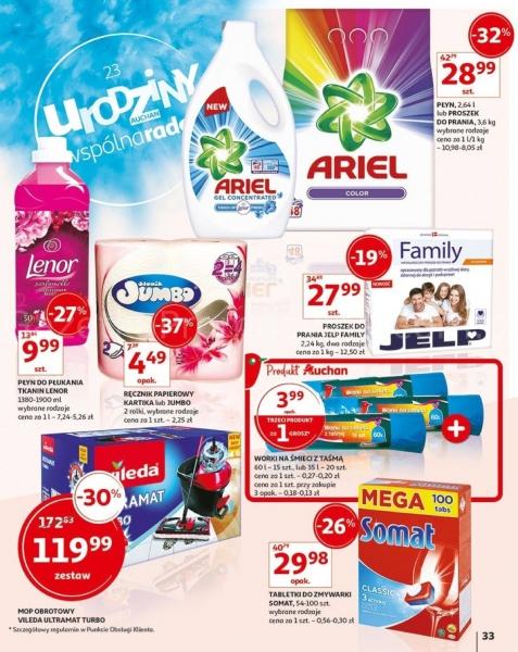 Auchan gazetka promocyjna od 2019-05-16, strona 33