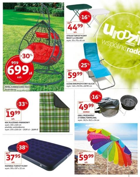 Auchan gazetka promocyjna od 2019-05-16, strona 35