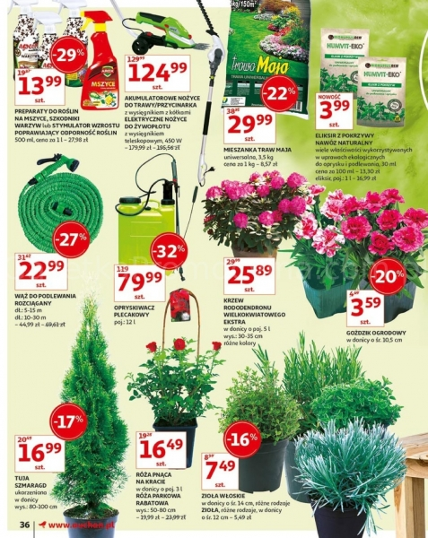 Auchan gazetka promocyjna od 2019-05-16, strona 36
