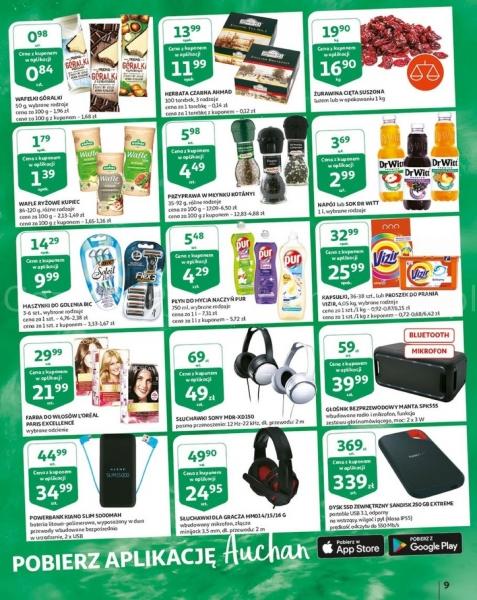 Auchan gazetka promocyjna od 2019-05-16, strona 9