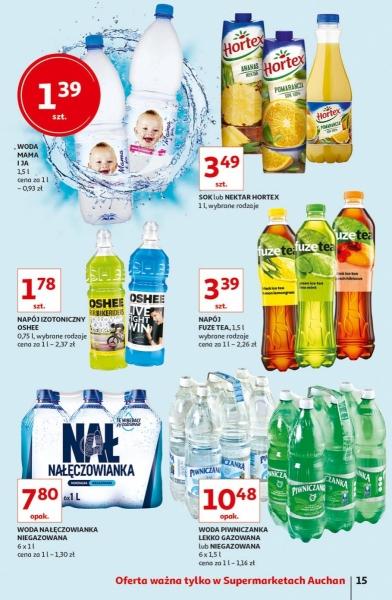 Auchan gazetka promocyjna od 2019-05-16, strona 15