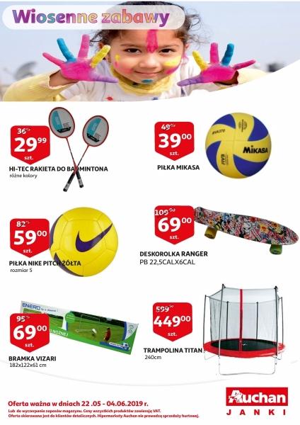 Auchan gazetka promocyjna od 2019-05-22, strona 1
