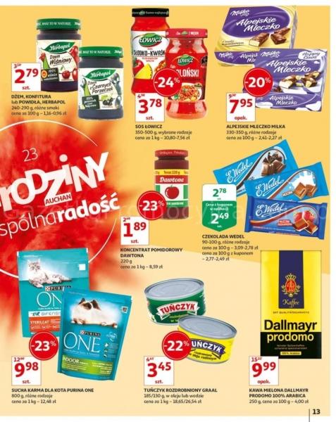 Auchan gazetka promocyjna od 2019-05-24, strona 13