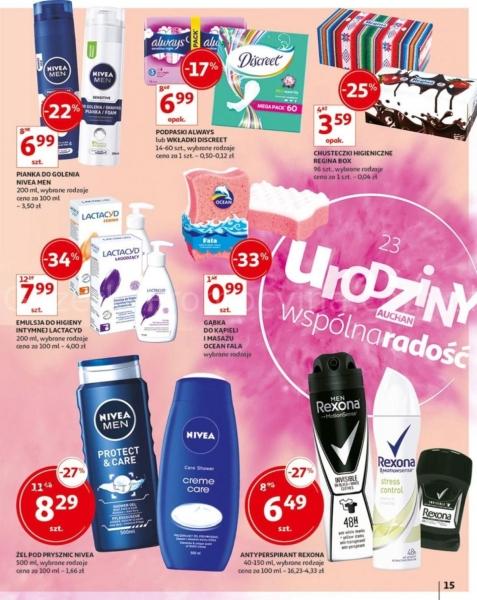 Auchan gazetka promocyjna od 2019-05-24, strona 15