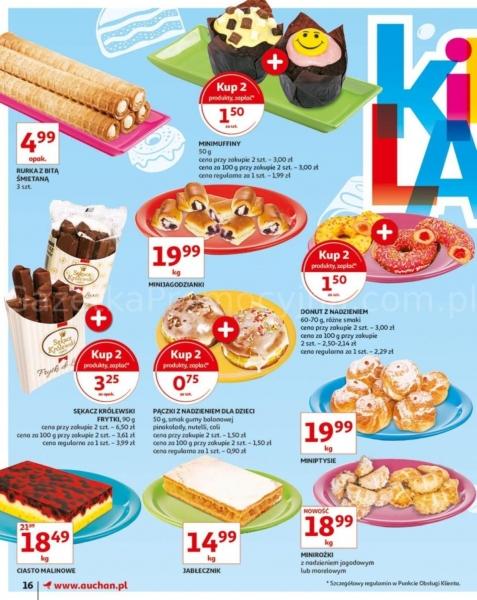 Auchan gazetka promocyjna od 2019-05-24, strona 16