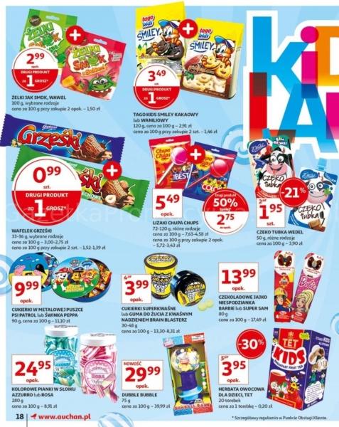 Auchan gazetka promocyjna od 2019-05-24, strona 18