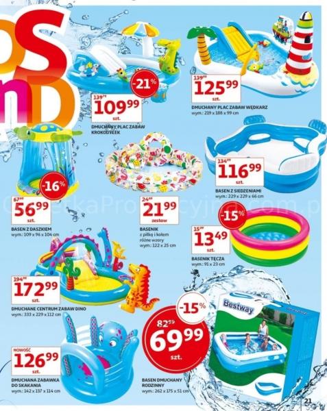 Auchan gazetka promocyjna od 2019-05-24, strona 21