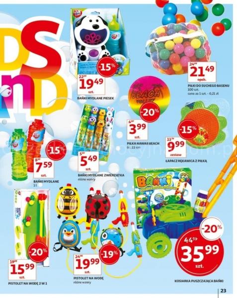 Auchan gazetka promocyjna od 2019-05-24, strona 23