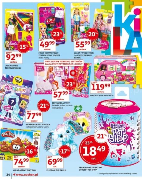 Auchan gazetka promocyjna od 2019-05-24, strona 24