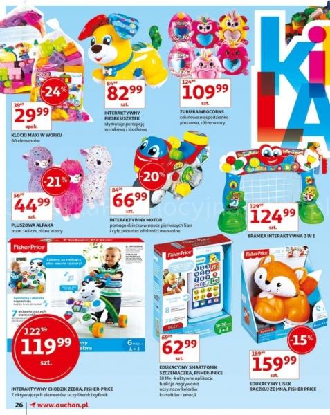 Auchan gazetka promocyjna od 2019-05-24, strona 26