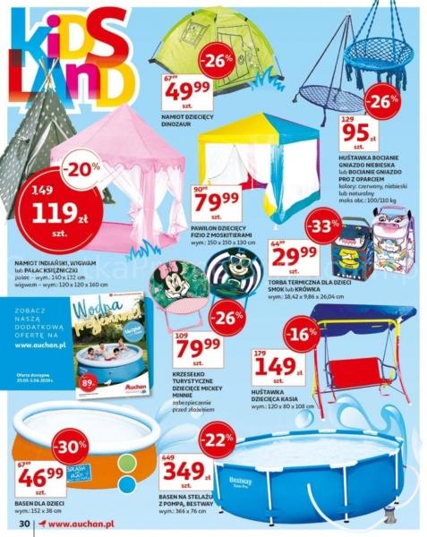 Auchan gazetka promocyjna od 2019-05-24, strona 30